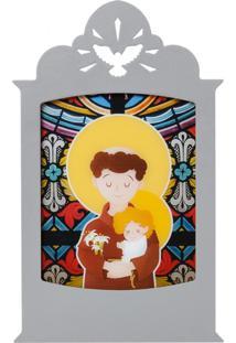 Luminária Carambola Santo Antônio Cinza