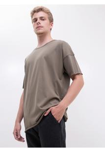 Camiseta Over Básica
