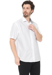Camisa Dudalina Reta Lisa Branca