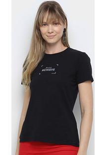 Camiseta Calvin Klein Believe Achieve Feminina - Feminino