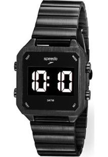 Relógio Speedo Digital Feminino - Feminino-Preto