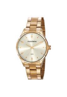Relógio Feminino Analógico Mondaine Dourado - 32108Lpmvde3 Dourado