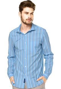 Camisa Casual Richards Azul