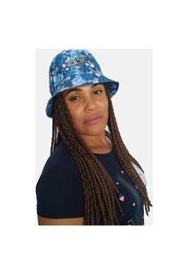 Chapéu Bucket Hats Black Bird Thb 56Fl