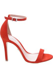 Sandália Single Stiletto Red Orange | Schutz