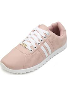 Tênis Neec Nc19-X259 Preto-Pink