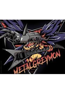 Camiseta Metalgreymon - Masculina