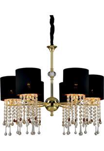 Lustre Lamp Show Trevoux Preto