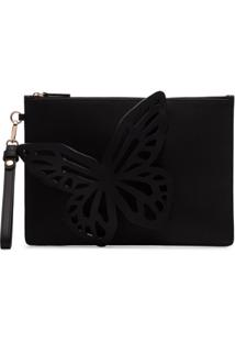 Sophia Webster Clutch 'Flossy Butterfly' - Preto