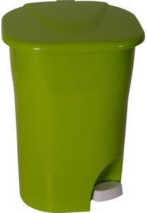 Lixeira Ecológica Com Pedal Astra Plástico 25 Litros