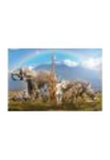 Painel Adesivo De Parede - Safari - Animais - 1729Pnp