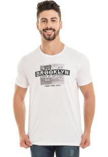 Camiseta Brooklyn Branco