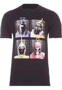 Camiseta Masculina Telemoobies - Preto