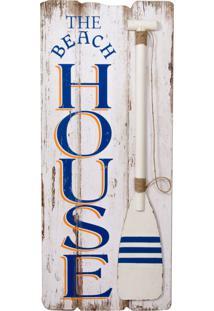 Placa Decorativa Beach House