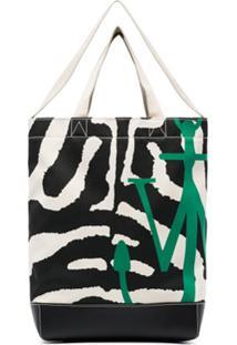 Jw Anderson Bolsa Tote Com Animal Print - Estampado