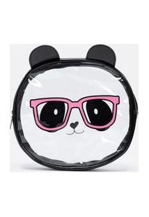 Nécessaire Tijolo Estampa Panda