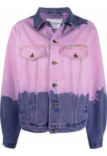 Forte Dei Marmi Couture Jaqueta Com Estampa Tie-Dye - Rosa