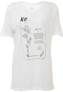 Camiseta Carmim Elements Off-White - Kanui