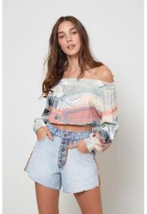 Blusa Bata Oh, Boy! Tassel Est Revoada Color Feminino - Feminino