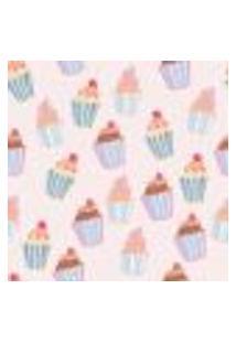 Papel De Parede Autocolante Rolo 0,58 X 5M - Cupcake Doces Cozinha 286294085