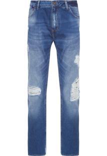 Calça Masculina Slim Rostock - Azul