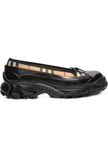 Burberry Overshoe Vintage Check Ballerina Shoes - Neutro