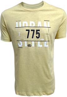 Camiseta 775 Urban Amarelo
