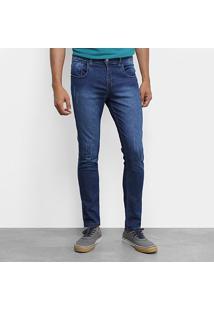 Calça Jeans Skinny Tbt Jeans Estonada Masculina - Masculino