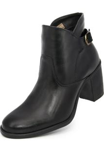 Bota Cano Curto Over Boots Any Preta