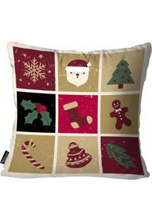 Capa Para Almofada Mdecor De Natal Multicolorido