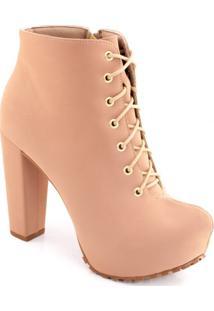 Ankle Boot Lita Tratorada Sapato Show 1120056