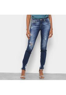 Calça Jeans Sommer Diane Skinny Feminina - Feminino