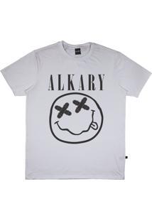 Camiseta Alkary Nirvana Branca