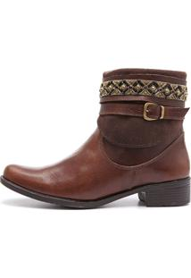 Bota Elite Country Donna Marrom
