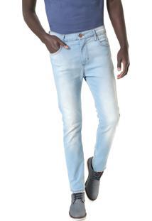 Calça Jeans Sommer Slim Alan Azul