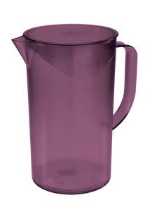 Jarra Com Tampa Casual 15 X 10,7 X 17,9 Cm 1 L Roxo Púrpura Coza