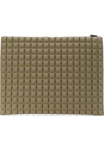 No Ka' Oi Clutch Com Textura - Green