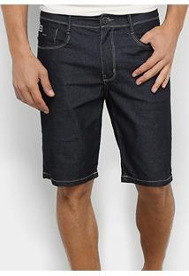 Bermuda Jeans Hang Loose Spot - Masculina - Masculino-Preto
