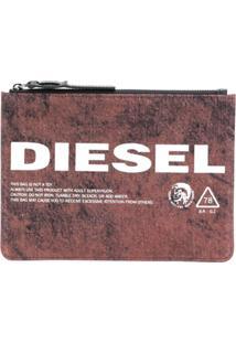 Diesel Carteira 'Lusina' - Vermelho