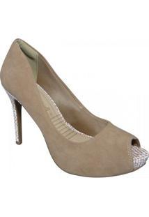 Sapato Ramarim - Feminino-Bege