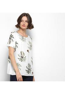 Blusa Lez Lez Floral - Feminino-Colorido