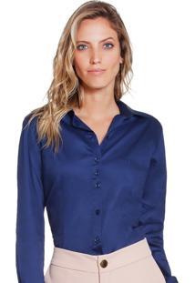 ... Camisa Social Hidry Marinho Principessa Taci b04889ca93e1d