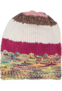 Missoni Knitted Beanie Hat - Rosa