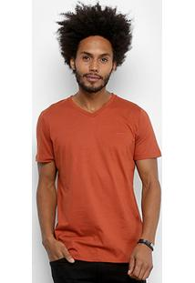 Camiseta Colcci Básica Gola V Masculina - Masculino