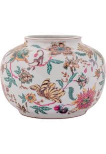 Vaso Decorativo De Porcelana Library - Linha Harmony