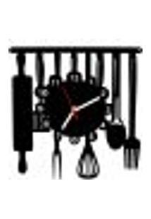 Relógio De Parede Decorativo - Modelo Cozinha