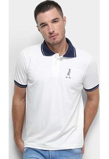 Camisa Polo Derek Ho Friso Caveira Masculina - Masculino-Off White