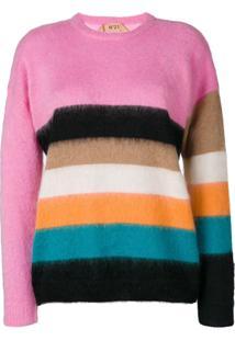 Nº21 Suéter Listrado - Estampado