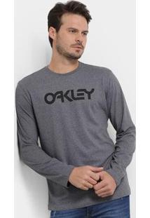 Camiseta Oakley Mark Ii Manga Longa Masculino - Masculino