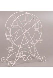 Roda Gigante Decorativa Novel Branco